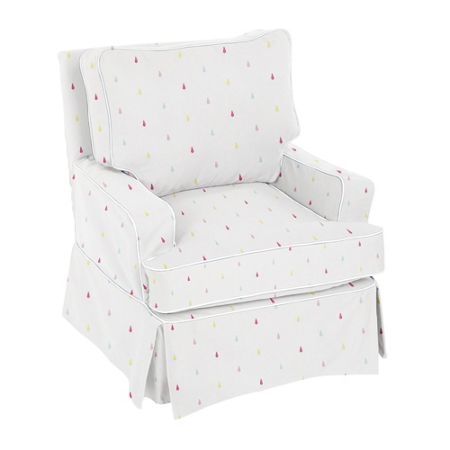 The Baby Cot Shop Raindrops Nursery Glider