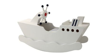 The Baby Cot Shop Ahoy! Rocking Boat