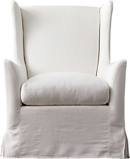 The Baby Cot Shop Wingback Nursery Glider