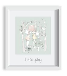 The Baby Cot Shop Woodland Fairies Framed Art