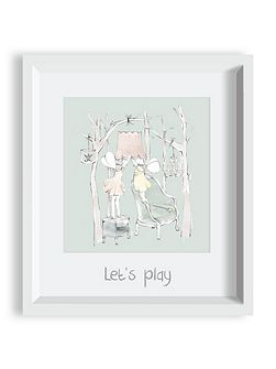Woodland Fairies Framed Art