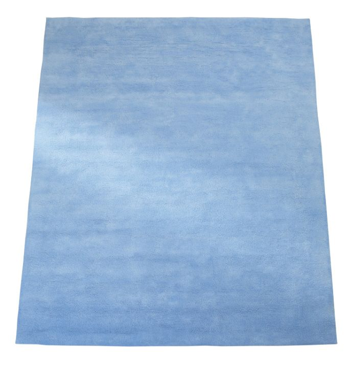 Image of The Baby Cot Shop Pale Blue Wool Rug