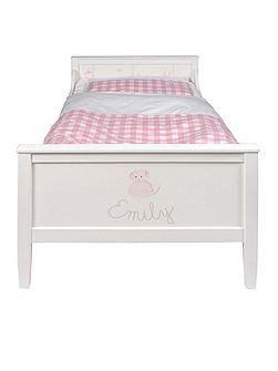 Motif Hand Painted Girls Bed