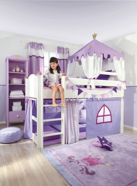The Baby Cot Shop Crown Royal Mid Sleeper Bed