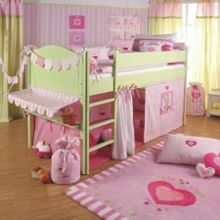 The Baby Cot Shop Candy Shop Mid Sleeper Bed