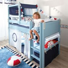 The Baby Cot Shop Lifebuoy Mid Sleeper Bed