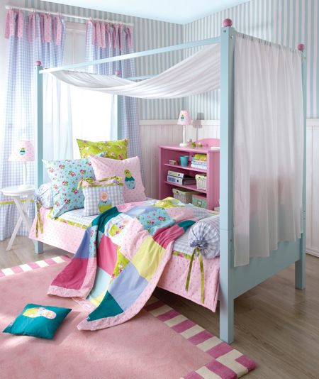 The Baby Cot Shop Four Poster Single Bed