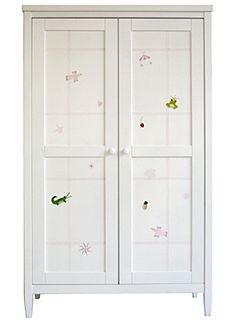 Motif Girls Hand Painted Wardrobe