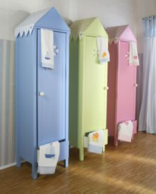The Baby Cot Shop Beach House Wardrobe