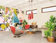 Graham & Brown Pop Art Wall Mural