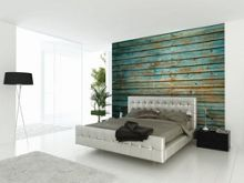Graham & Brown Blue Washed Timber Wall Mural