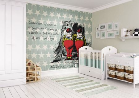 Graham & Brown Alice In Wonderland Fun Wall Mural