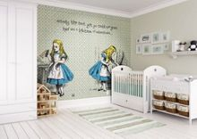 Graham & Brown Alice in Wonderland Quote Wall Mural