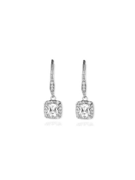 Anne Klein Pave Button Stud Earrings