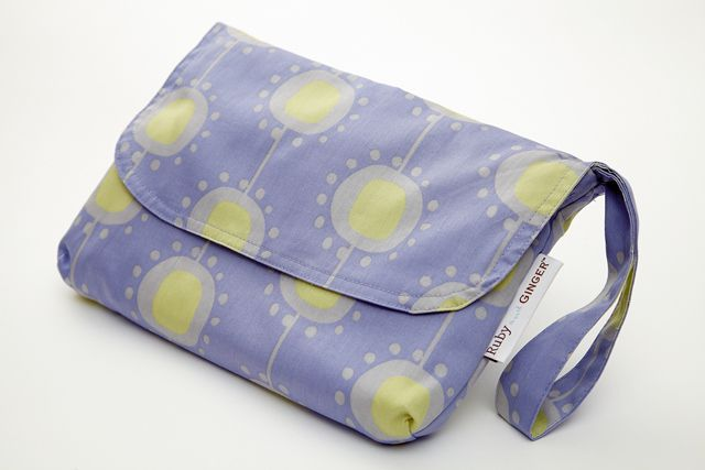 Ruby and Ginger Ruby and Ginger Nappy purse, Blue