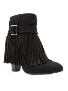 Qupid Madge fringe boot