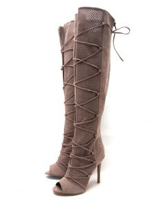 Qupid Ara knee boot