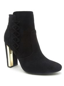 Qupid Panel ankle boot