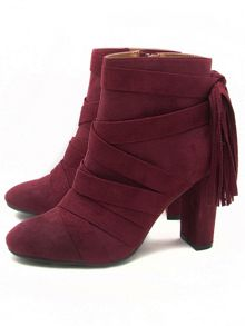 Qupid York ankle boot