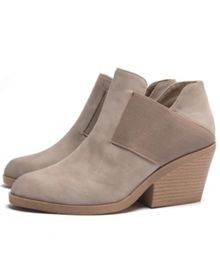 Qupid Zora slip on ankle boot