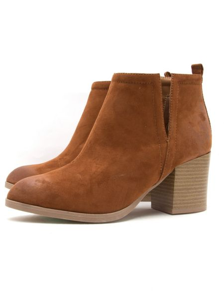 Qupid Wilson ankle boot
