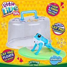 Little Live Pets Sparkler with Lily Pad Habitat
