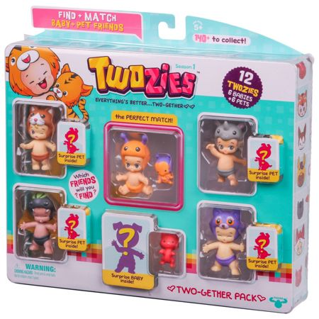 Twozies Two-gether 9 Pack