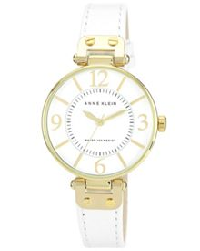 Anne Klein White ladies watch