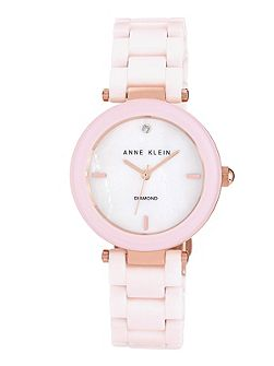 35 mm rose gold-tone case watch