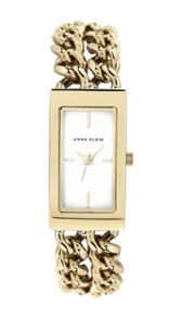 Anne Klein Anne Klein Gold Bracelet Chain Watch
