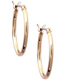Nine West Gold Hoop Earrings