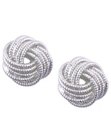 Nine West Chain Gang Knot Earrings