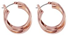 Anne Klein Rose Gold 3 Hoop Earrings