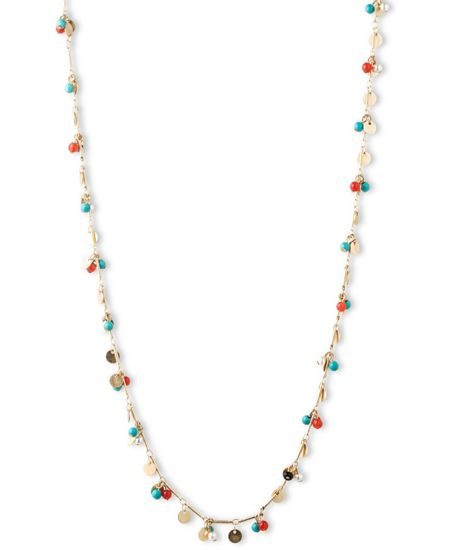 LONNA & LILLY Shaky Chain Necklace