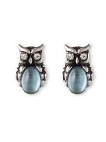 LONNA & LILLY Owl Stud Earrings