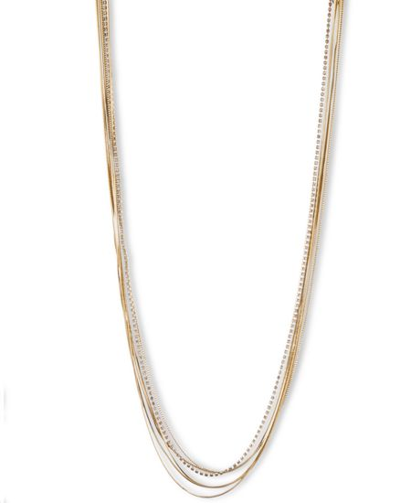 LONNA & LILLY Multi Chain Necklace