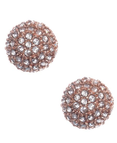 Anne Klein Crystal Stud Earring Set