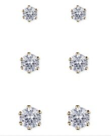 Anne Klein Fireball Stud Earrings
