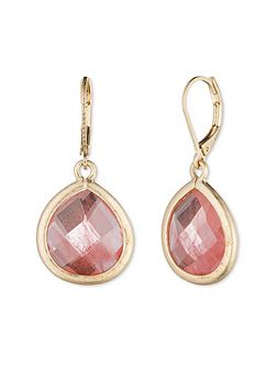 Cherry Quartz Drop Earrings