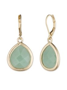 LONNA & LILLY Green Aventurine Drop Earrings