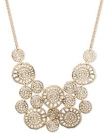 LONNA & LILLY Filigree chain necklace