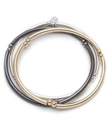 Nine West Trio set of strecth bangles