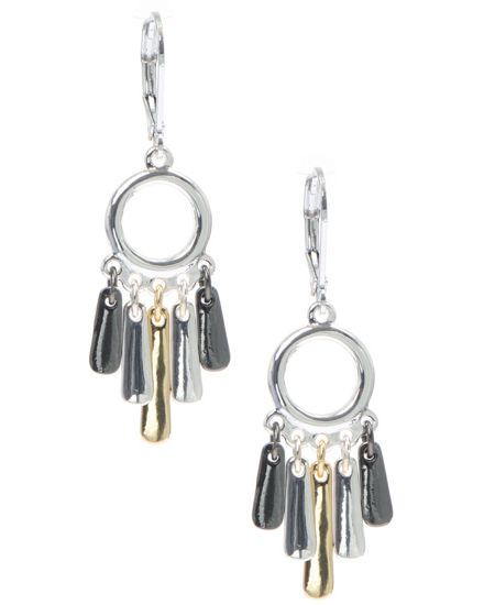Nine West Small chandellier earrings