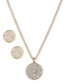 Anne Klein Anne Klein Necklace, Pendant & Ear Set