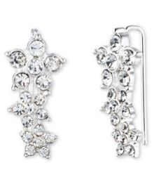 Anne Klein Flower Cluster Earrings