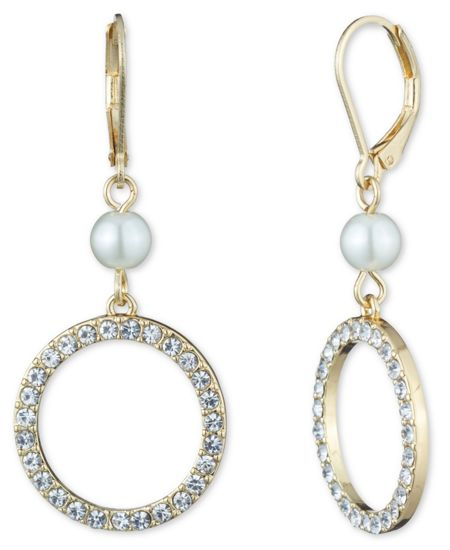 Anne Klein Leverback Earrings