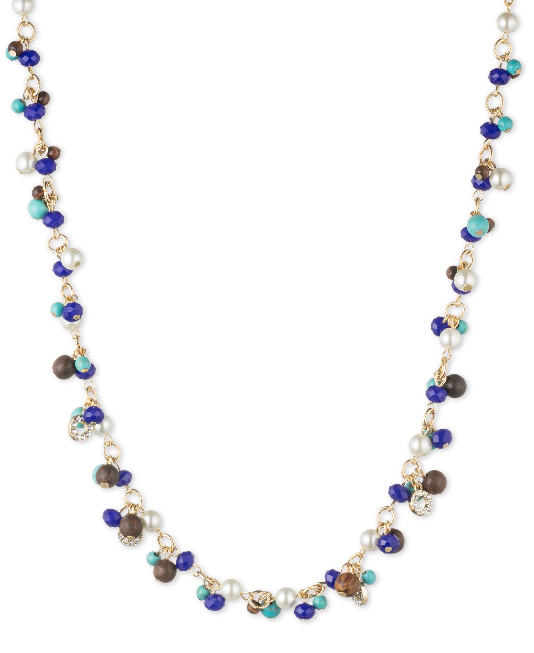 anne klein all around pearl collar necklace