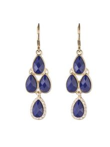 Anne Klein Leverback Chandelier Earrings