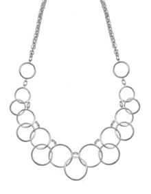 Nine West Multi Circle Necklace