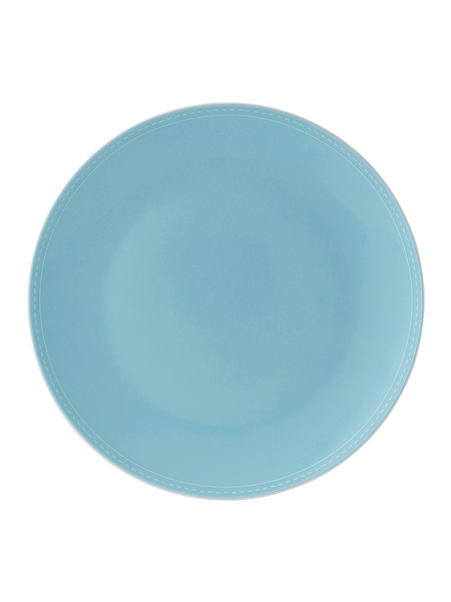 Pure blue 21cm side plate